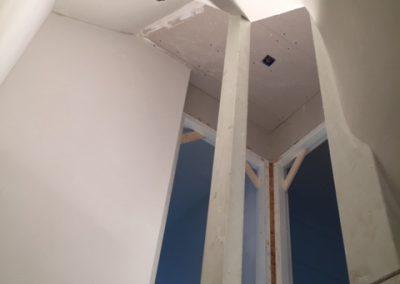 trappen portaal - Stucadoorsbedrijf Almere - Molenaar & Schilder